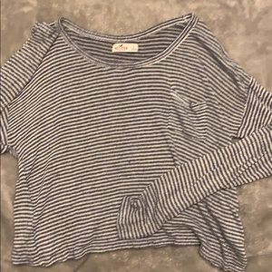 Hollister Crop Long Sleeve